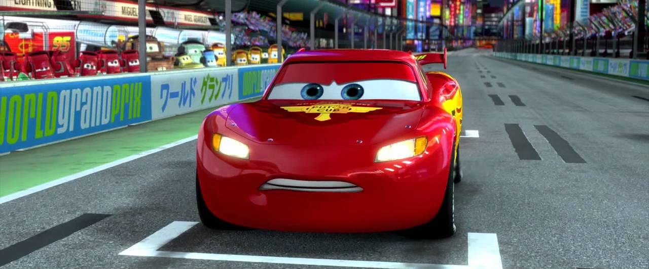 Pixar Cars Desktop Wallpaper Cars 2 Japan Race Clip Youtube