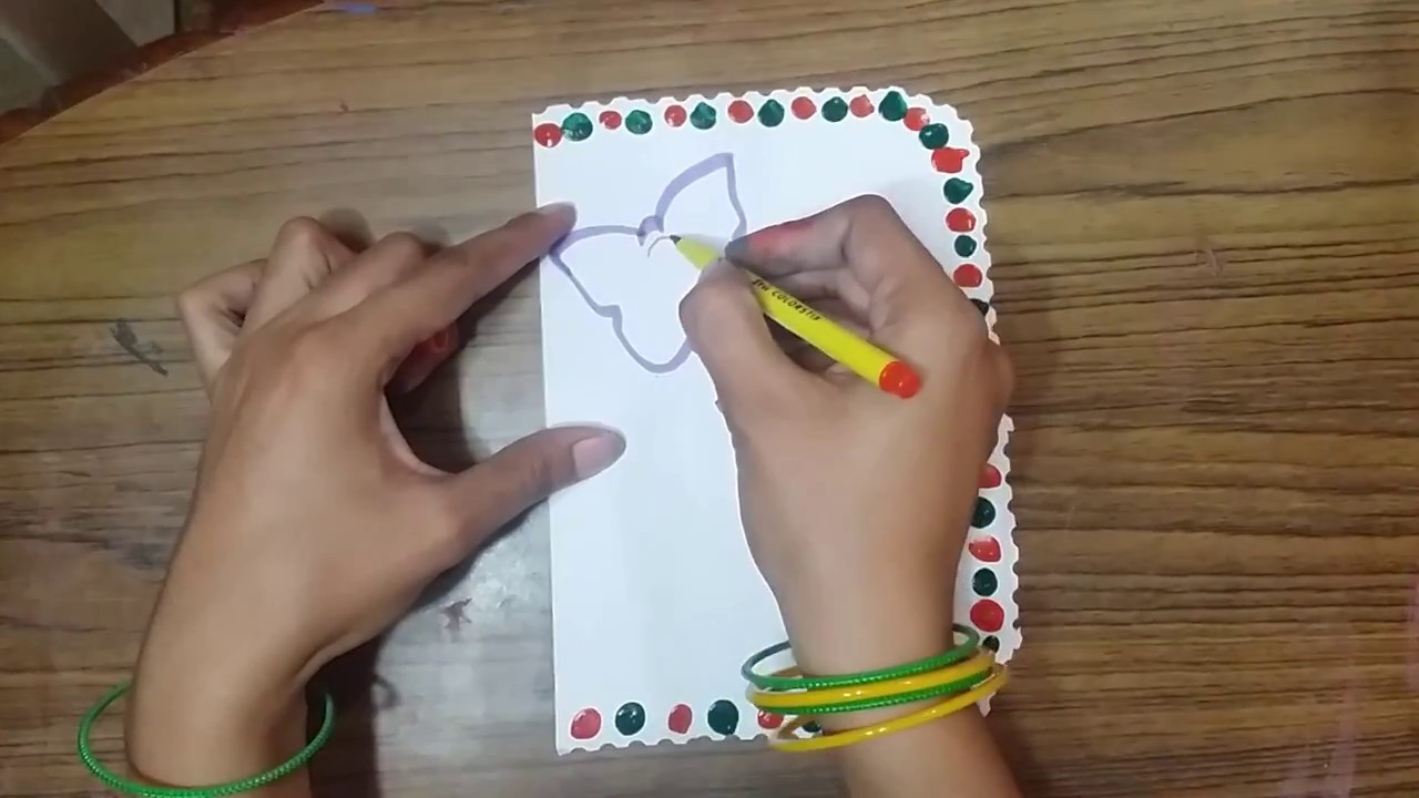 Teachers Day Handmade Greeting Card Making Idea For School Students KIds Parths WorlD