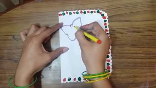 Teachers Day Handmade Greeting Card Making idea for School Students KIds Parth's WorlD