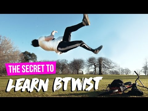 HOW TO BTWIST | Butterfly Twist | Tricking Tutorial