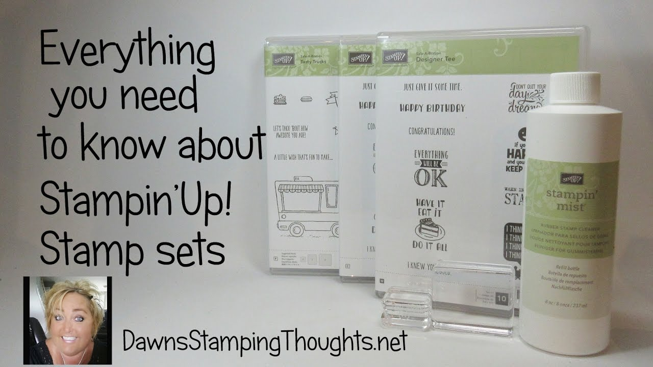 Everything You Need To Know About StampinUp Stamp Sets With Dawn