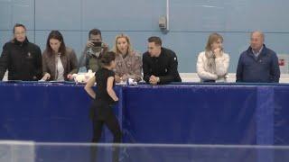 Alina Zagitova 2018 09 08 Open Skating SP WU A