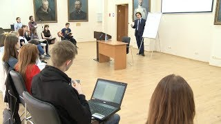 Встреча студентов САФУ с Антонием Швиндтом