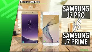 Samsung J7 Pro VS Samung J7 Prime | Enfrentamiento | Review | Unboxing