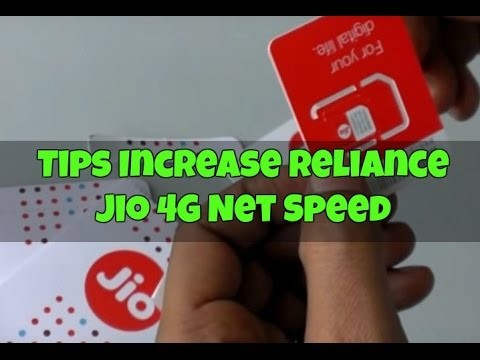 Tips Increase Reliance Jio 4G Net Speed - Increase Jio Downloading Speed by 200% [HINDI] - 동영상