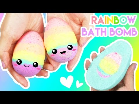 How To Make Rainbow Filled Easter Egg Bath