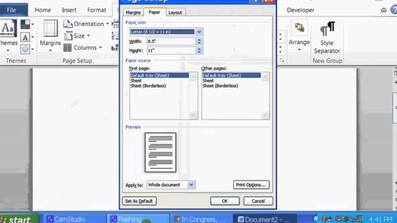 How to Make 3 X 5 Note Cards With Microsoft Word : Microsoft Word ...
