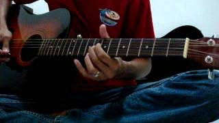 The Rock Feat Ahmad Dhani - Munajat Cinta ( Guitar Cover )