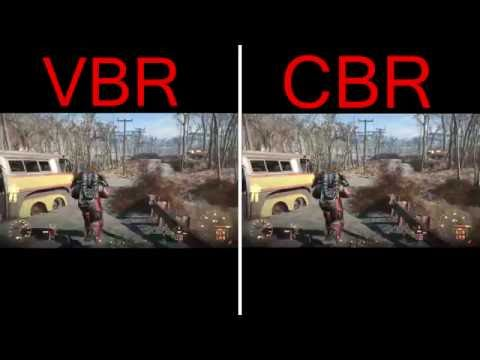 VBR vs. CBR Quality Test - Which One Is Better? Fallout 4