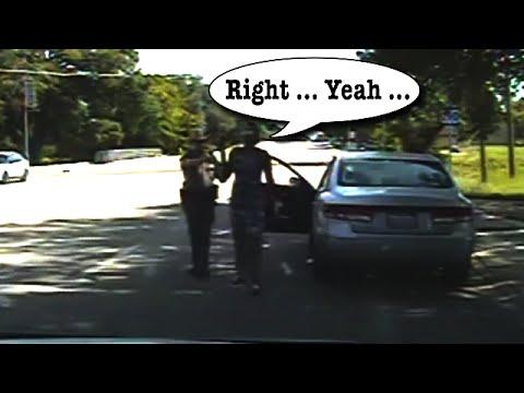 Sandra Bland Dashcam Video of Traffic Stop & Arrest FULL VIDEO