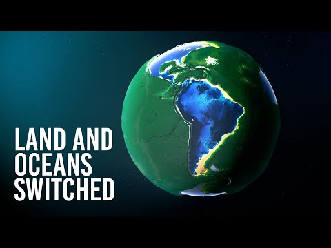 What If The Land And Oceans On Earth Switched Places?