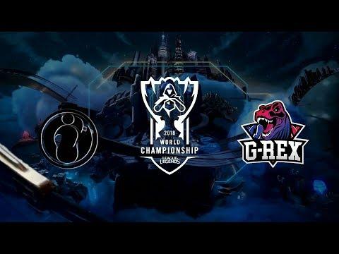 �全球總決賽】小組賽 第二天 IG vs GRX