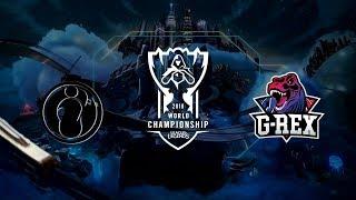 Video 【2018全球總決賽】小組賽 第二天 IG vs GRX download MP3, 3GP, MP4, WEBM, AVI, FLV Oktober 2018