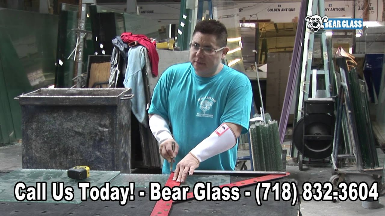 WIRE GLASS IN BROOKLYN NEW YORK BY BEAR GLASS - YouTube