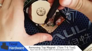 Harvesting Hard Drive Magnets