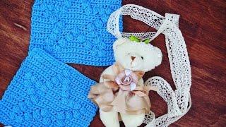 Вязание крючком. Квадрат-Мастер класс. Crochet square. Master class.