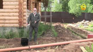 видео Колодец своими руками: расстояние от бани, глубина, как копать, устройство отмостки