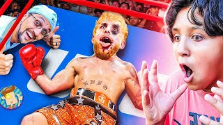 I REQUIRED JAKE PAUL to LOSE the Battle! $$$ LOST! (FV Household Boxing Vlog: Cleveland, Ohio)  | NewsBurrow thumbnail