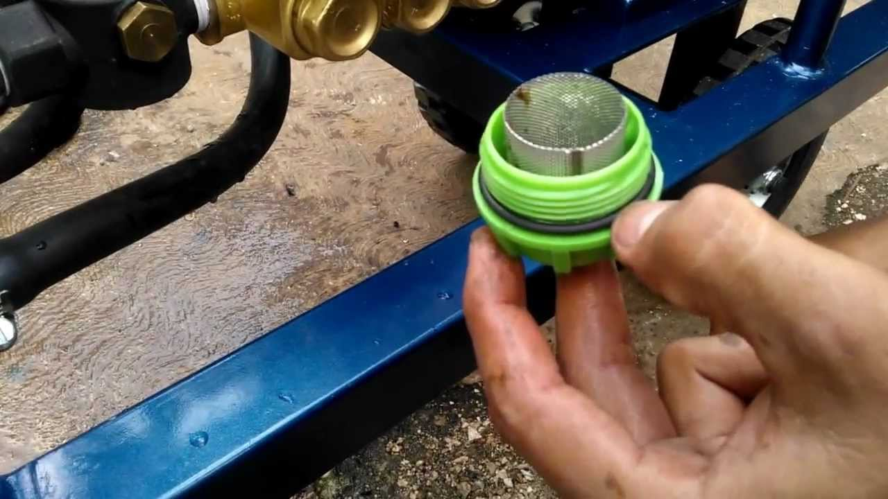 Mantenimiento 2 limpieza de filtro de malla youtube - Filtro de malla ...