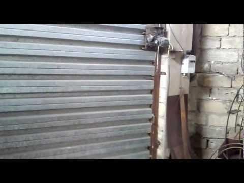 Ворота гаражные подъемные самодельные чертежи видео