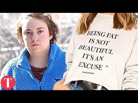 Lena Dunham 'FAT PHOBIC' Revolve Sweater Causing Major Controversy