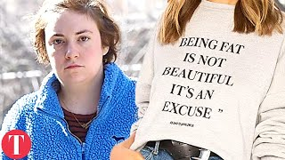 Lena Dunham 'FAT PHOBIC' Revolve Sweater Causing Major Controversy