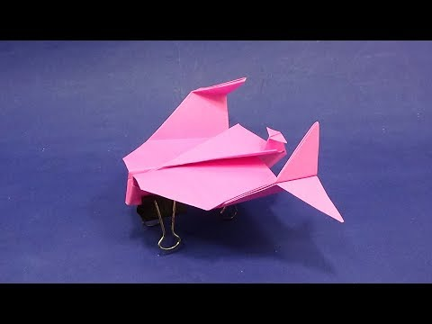 How To Make Paper Helicopter That Fly Forever Origami Easy Diy Tutorial Design AT Home Step By Step