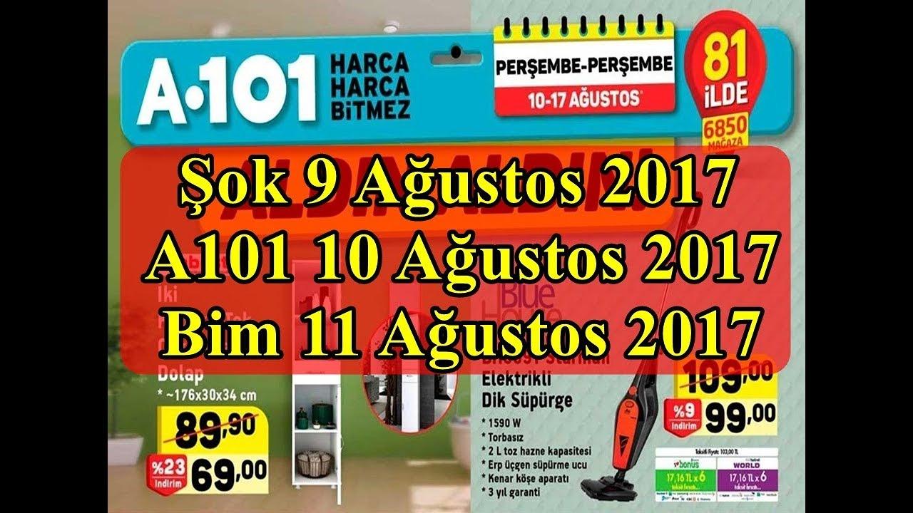 A101 17 Ağustos 2017 Kataloğu