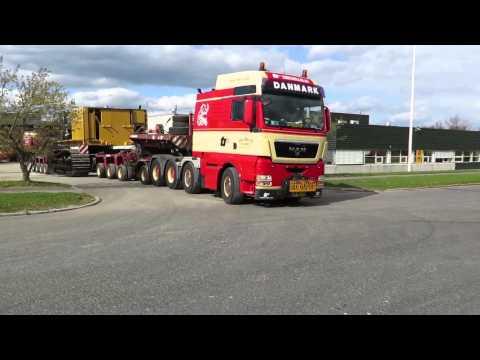 Torben Rafn & Co moves Cat 390.