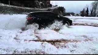 Hyundai X35 4X4 184hp snow drift mustafa kartal
