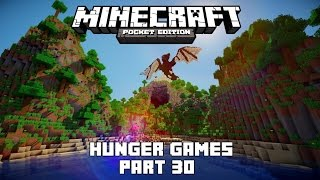 Minecraft Pocket Edition - Hunger Games Part 30 - Another Lucky Escape!