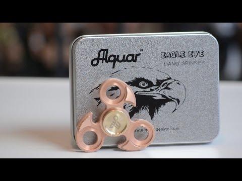 Alquar Eagle Eye Fidget Spinner Review!