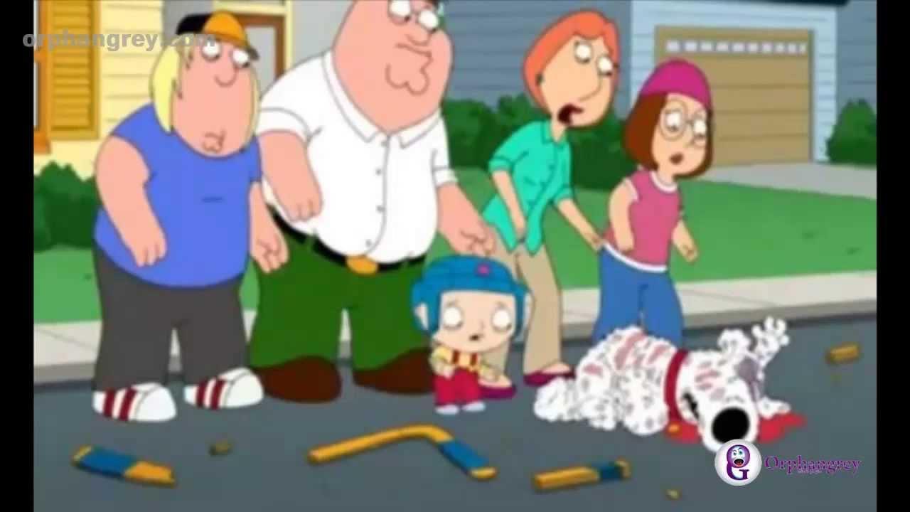 La Muerte Del Perro Brian Griffin  Padre de Familia Family Guy