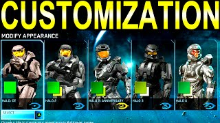 Halo: The Master Chief Collection CUSTOMIZATION