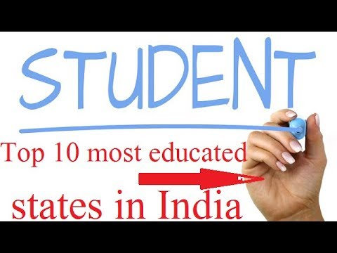 Top 10 Most Educated States In India 2018 Literacy Rate In India