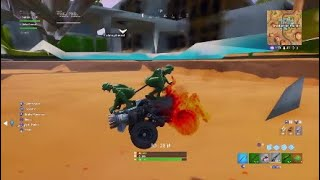 Accidentally getting under the map in Fortnite..... (glitch)