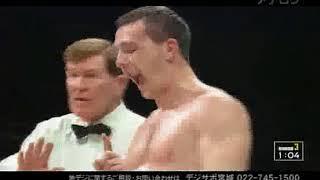 ビタリ・タイベルト vs 粟生隆寛(WBC世界スーパー・フェザー級タイトルマッチ)1/2