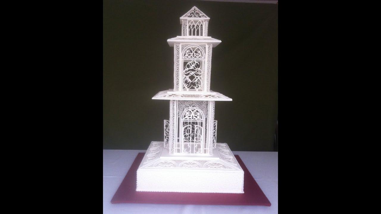 Encaje pasteler a art stica filigrana de glass chef for Glace decoration