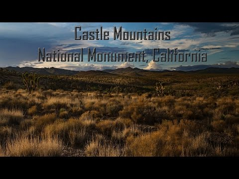 Remote and Protected - Castle Mountains National Monument