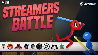 Stick Fight - Aorus Streamers Battle 3 - 2000 INR Steam Wallet Code Giveaway
