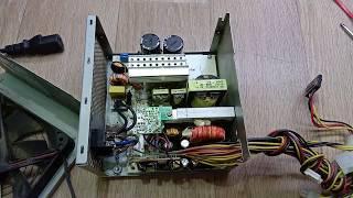 Не включается персональный компьютер/ Простой ремонт блока питания/ Нужен ли тестер БП ATX