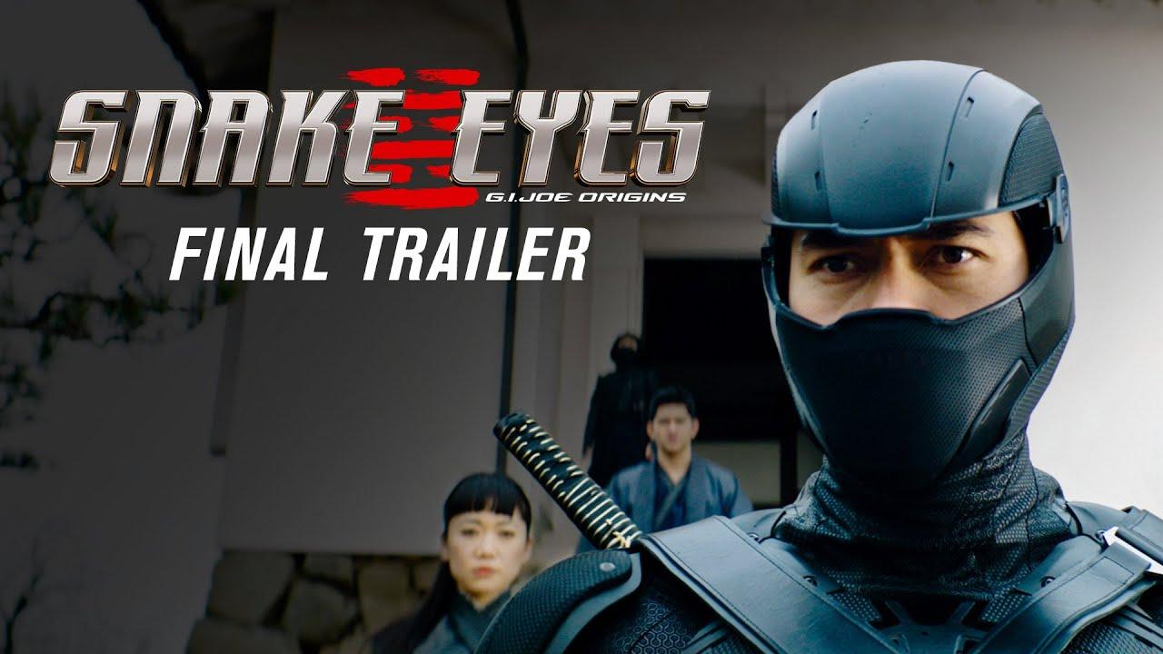 Download Snake Eyes: G.I. Joe Origins - final trailer