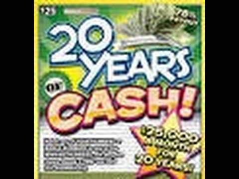 New Indiana Lottery $25 Dollar Scratch Off Live