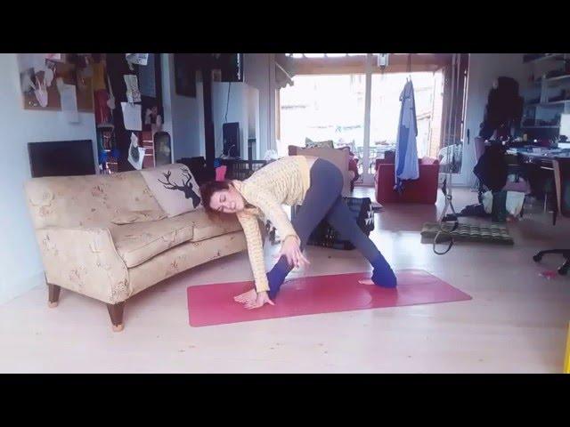 Yoga detox: Parivrtta Trikonasana/Trikonasana B