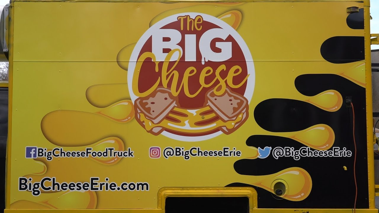 The Big Cheese Food Truck Erie Pa Grilled Cheese At Bigcheeseerie