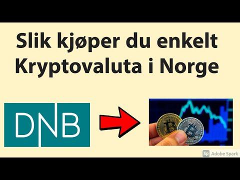 Slik kjøper du Bitcoin og Kryptovaluta i Norge enkelt! Kjøp, salg, innskudd, uttak og mye mer!