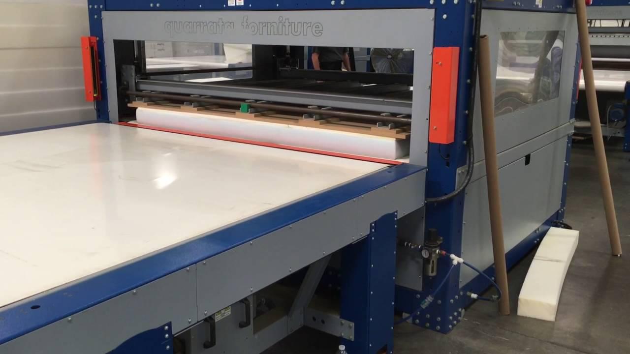 Making A Memory Foam Mattress - Brentwood Home Factory