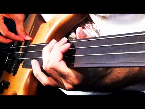 Download Youtube: GUITAR STRINGS on BASS?!