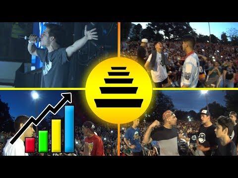 Las BATALLAS más FAMOSAS del QUINTO ESCALÓN !   Lo Mejor de las Batallas de Gallos Rap