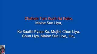 Pehla Nasha,,, Once Again VR Version Karaoke With Lyrics
